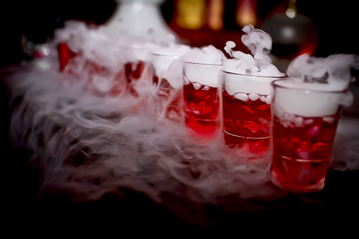 Love potion 10 mysterious with dry ice be my for Food bar drinking game