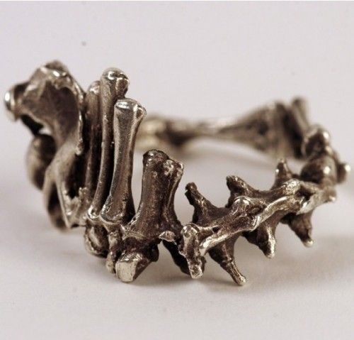 Bone ring - by Ardent1 on Etsy