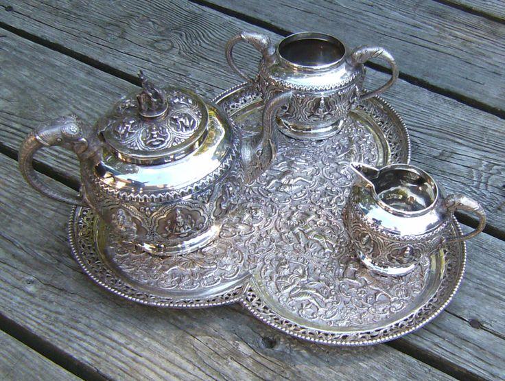 Sterling Tea Service ...Gorgeous pieces