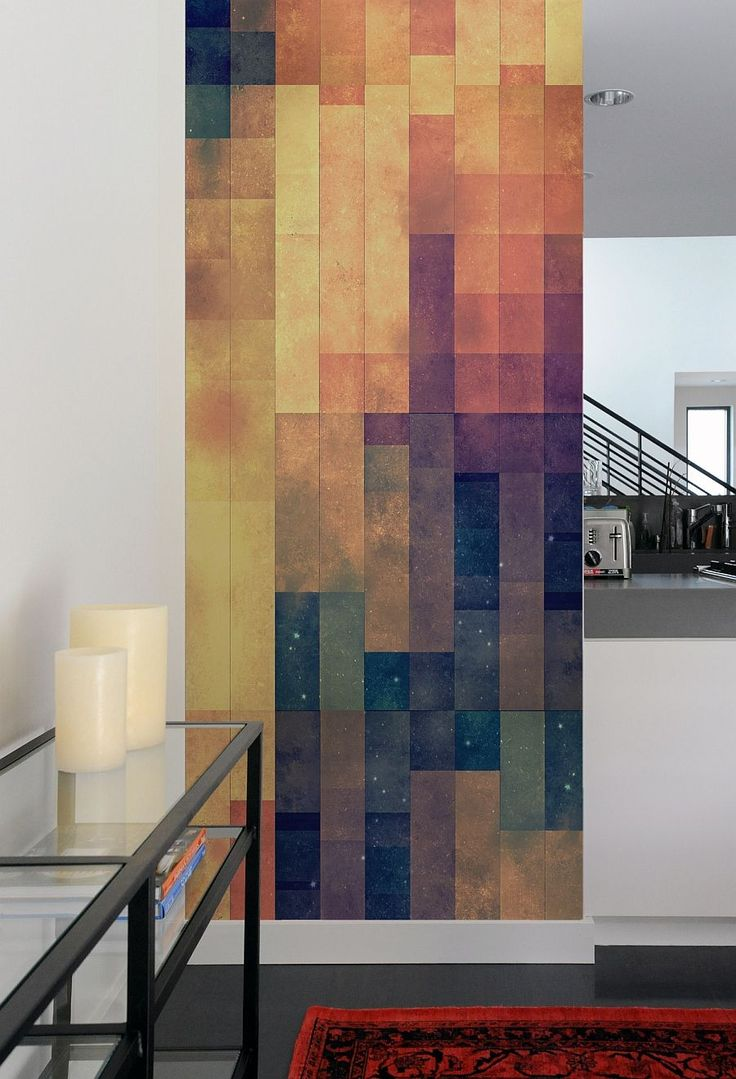 Bold accent walls. Create A Captivating Accent Wall With Geometric-Patterned Wall Tiles