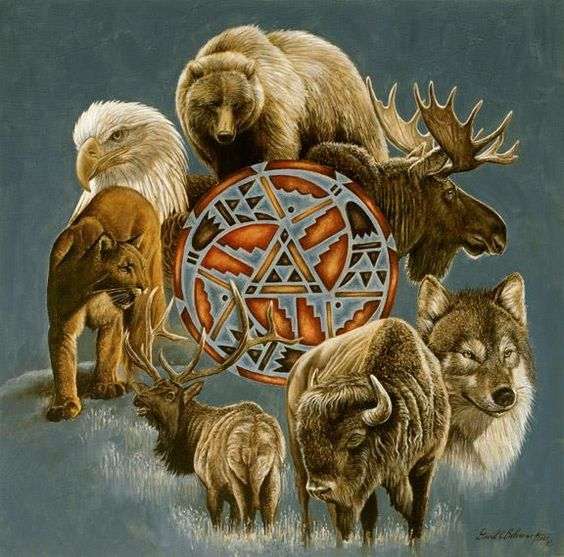 Power Animals are believed to be a supernatural power that embodies, attaches or conveys influence empowering a person with the powerful traits and characteristics of the animal.
