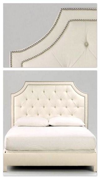 #prettybedrooms #girlybedrooms #upholsteredheadboard