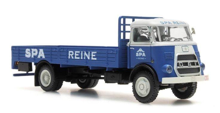 DAF flatbed truck, cab.'64, 'Spa Reine'