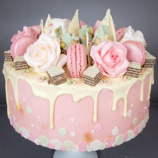 Best Pasteles Con Crema Nakedcake Frosting Images On - Gorgeous birthday cakes