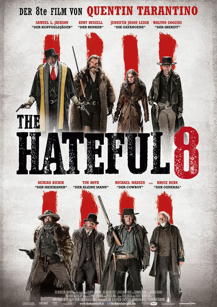 The Hateful 8 - Film 2015 - FILMSTARTS.de