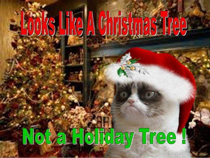 grumpy cat meme christmas tree - photo #25