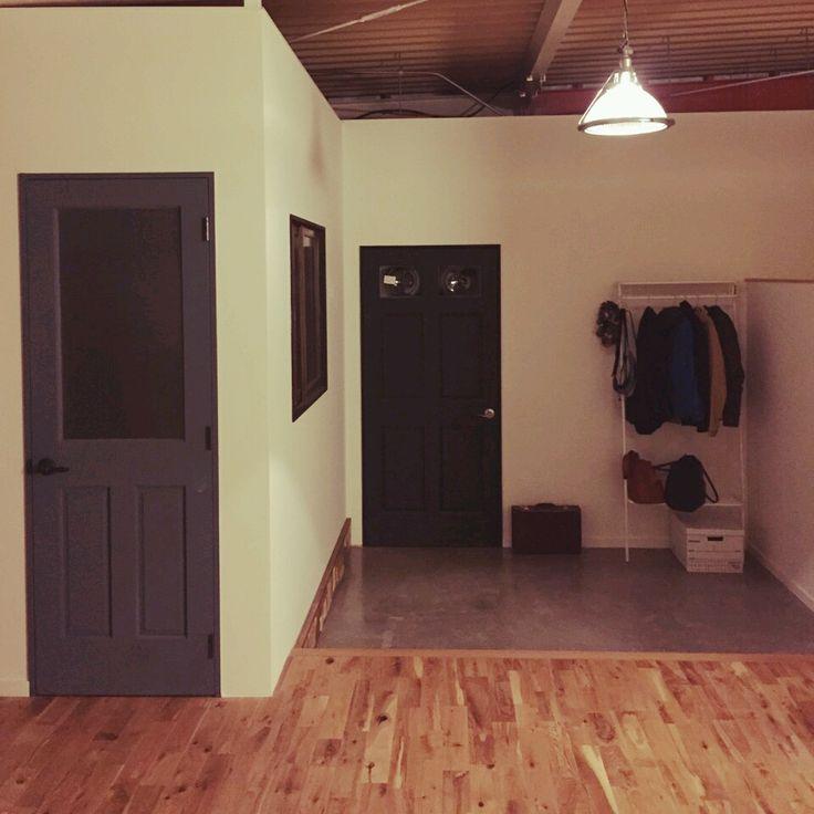 cao03さんの、玄関/入り口,土間,セルフリノベ,無垢フローリング,のお部屋写真
