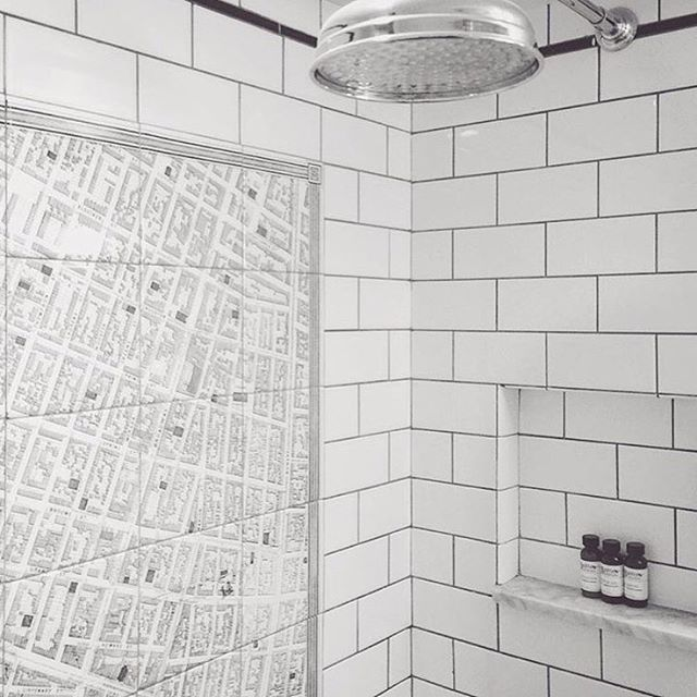 map out your day in the shower by our guest sfloyaliz cosmotribeca boutiquehotel