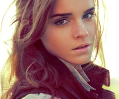 Emma Watson..I mean seriously I quit trying to be pretty beginning now.