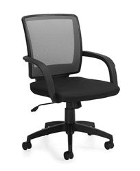 offices to go chairs. offices to go gray mesh conference chair with black fabric seat and loop arms chairs e