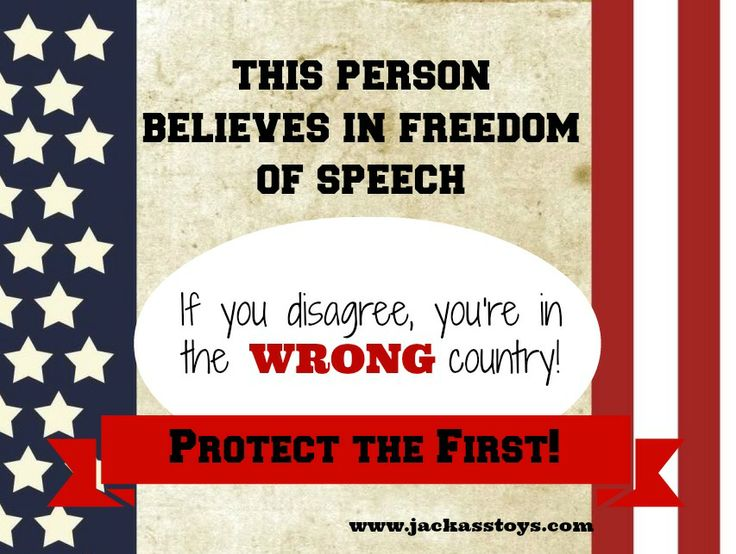 an examination of the first amendment the freedom of speech Freedom of speech is guaranteed by the first amendment to the us constitution the amendment generally prohibits the government from infringing on, or otherwise banning, speech because it does not agree with the message being advocated.
