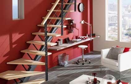 rangements malins sous escaliers coins bureaus and deco. Black Bedroom Furniture Sets. Home Design Ideas
