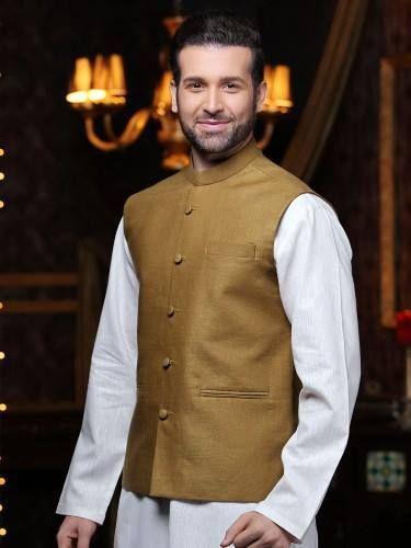 Eden Robe Waistcoat with 2015 Shalwar Kameez for men by (1)