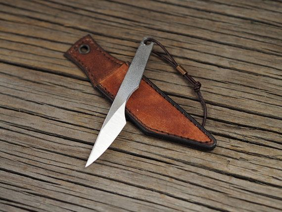 Couteau Kiridashi sculpture couteau couteau de cou edc par HKnives