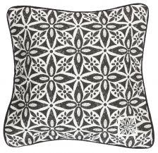 Svanefors, tyynynpäällinen, Marokko, mustavalkoinen