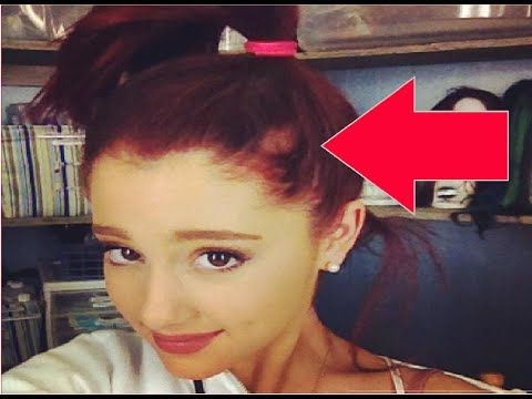 Ariana Grande IS GETTING BALD!This is why she wears her hair in a ponytail! - YouTube