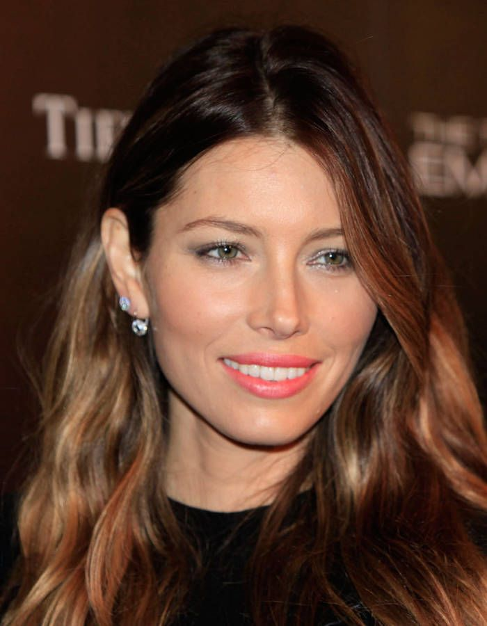 la coloration bronde de jessica biel la coloration bronde la nuance prfre des stars - Coloration Bronde