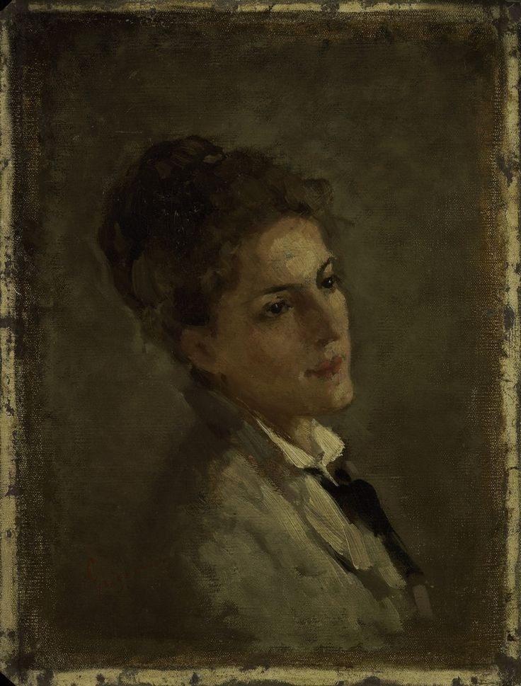 Nicolae Grigorescu - Portretul Alexandrinei Filionescu