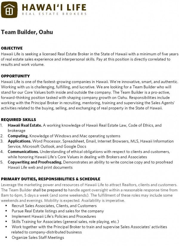 Best 25+ Proposal writer ideas on Pinterest Grant proposal - real estate broker resume
