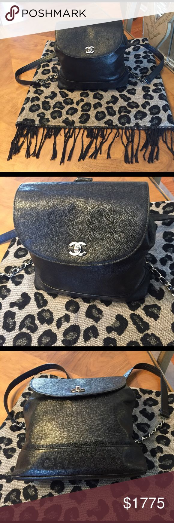 Authentic Chanel Bag Chanel bag excellent condition still has hologram sticker inside CHANEL Bags Backpacks