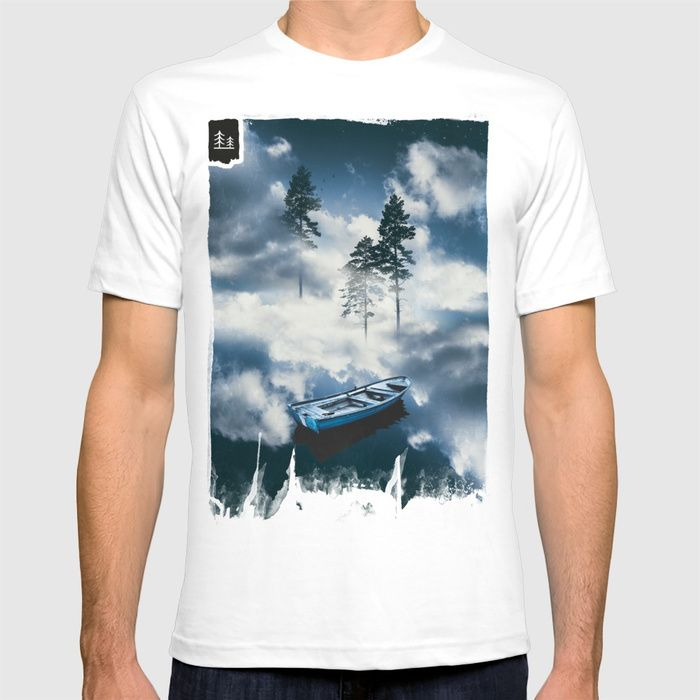 Forest sailing T-shirt by HappyMelvin. #art #nature #photography #surreal #fashion #tshirts