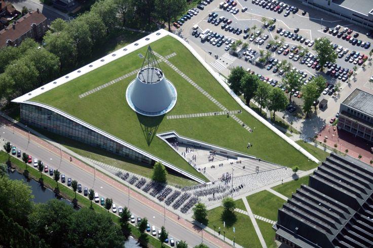 Roof Garden Technical University  |  Delft Netherlands