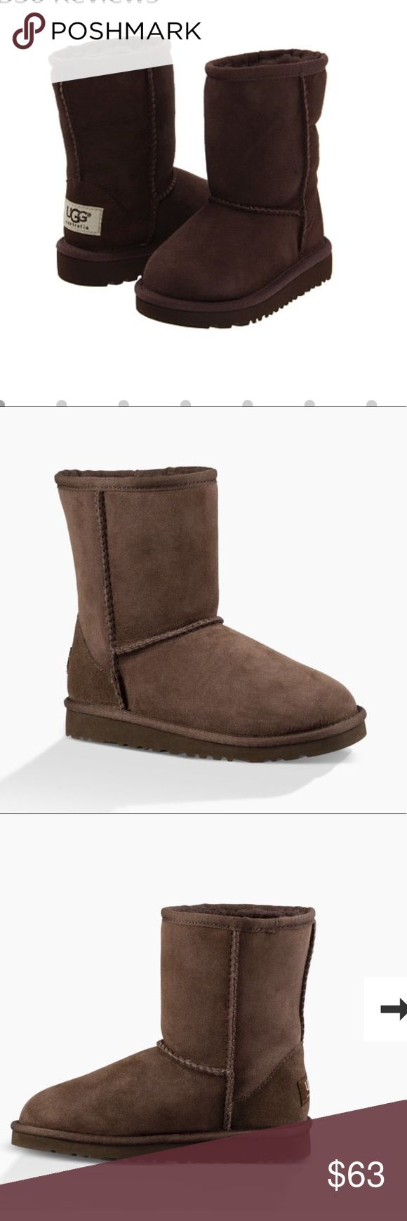 Toddler UGG boots PRICE REDUCTION Brand new in box, chocolate, original Ugg boots for toddler. UGG Shoes Boots