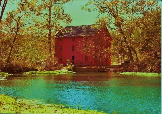 Old Mill Pond Fine Art Photography by scenicviewphotos on Etsy