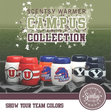 Graduation Gifts for that soon to be UT, Rebel, Bulldog, Auburn, Roll Tide, & many more campus warmers to choose from to show their team spirit while Scentsy donates a portion of your purchase to fund important school programs. Wickless, Flameless & will make that dorm room feel like home :) Comes delivered in a spirited Campus Collection box w/ your schools licensed logo & colors.   https://www.tcastle.scentsy.us/Scentsy/Buy/Collection/507