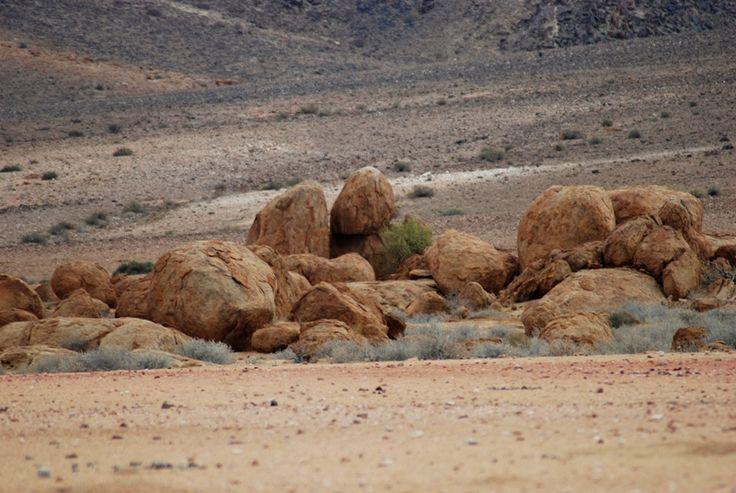 Boulders on the plains