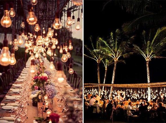 Al Fresco Dining With Globe Lights