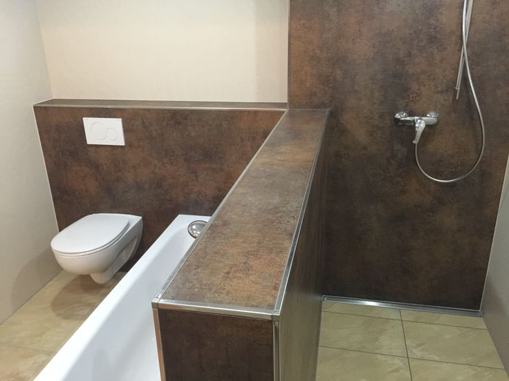 Hier die ebenerdige Dusche, die sogar mit einem Rollstuhl befahrbar ist.