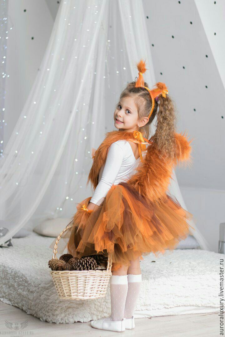 Squirrel Costume    Костюм белочки в интернет магазине на Ярмарке Мастеров