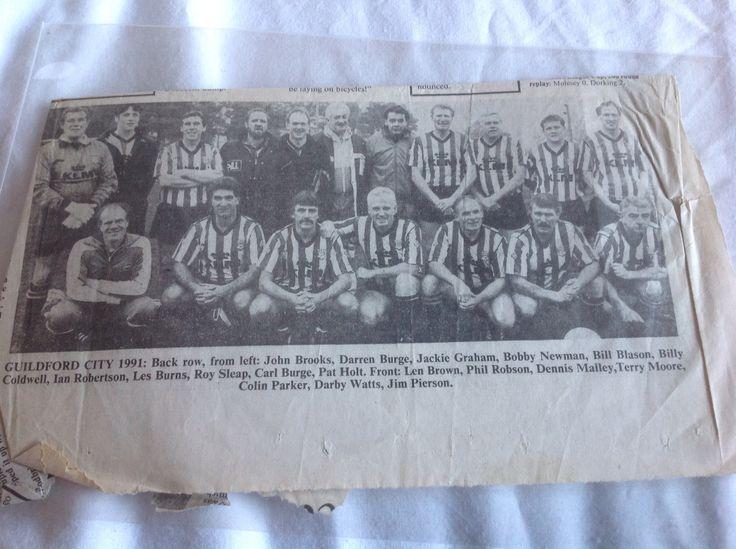 Guildford city reunion 1991 legends