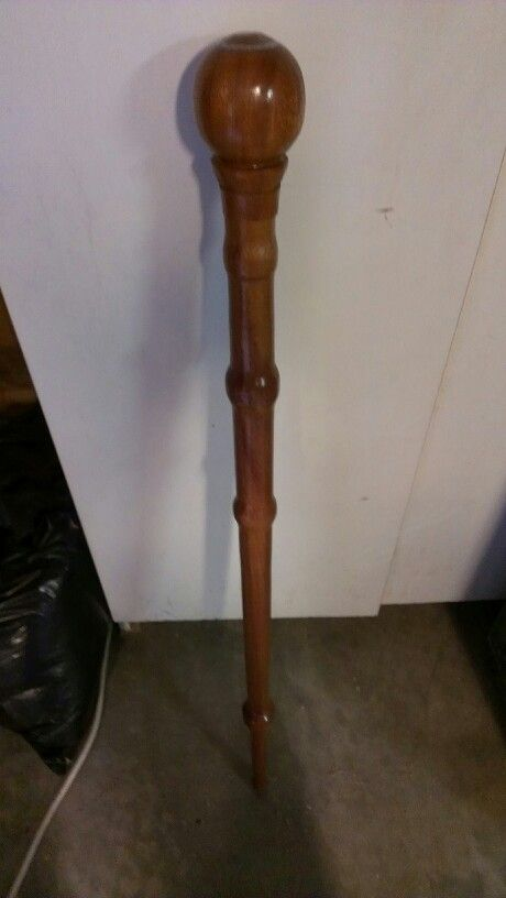 Lathe Turned Walking Stick Craftiness Pinterest