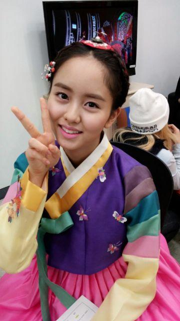 김소현 쇼 음악중심 2014 Jan
