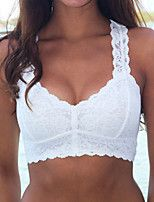 Full Coverage Bras,Lace Bras Lace / Polyester