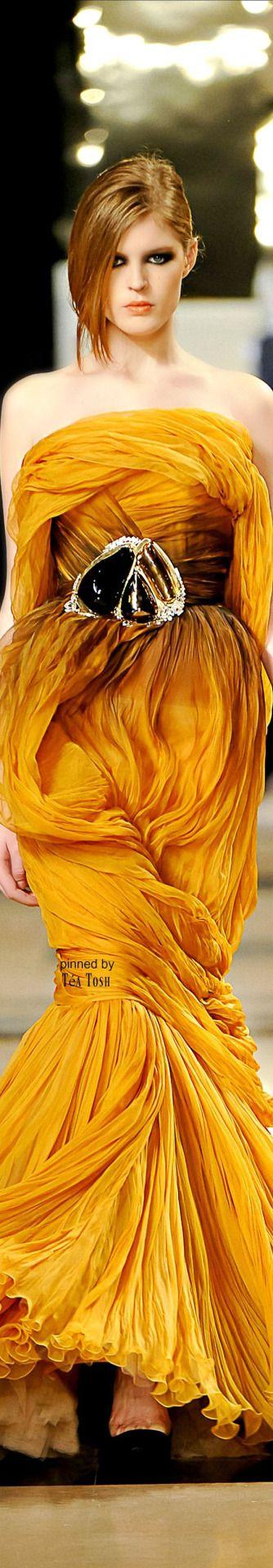 ❈Téa Tosh❈Stéphane Rolland Parigi - Haute Couture Spring Summer 2011 - Shows…