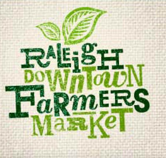 Raleigh Downtown Farmers Market. Cute and Funky logo. Maybe too hip.