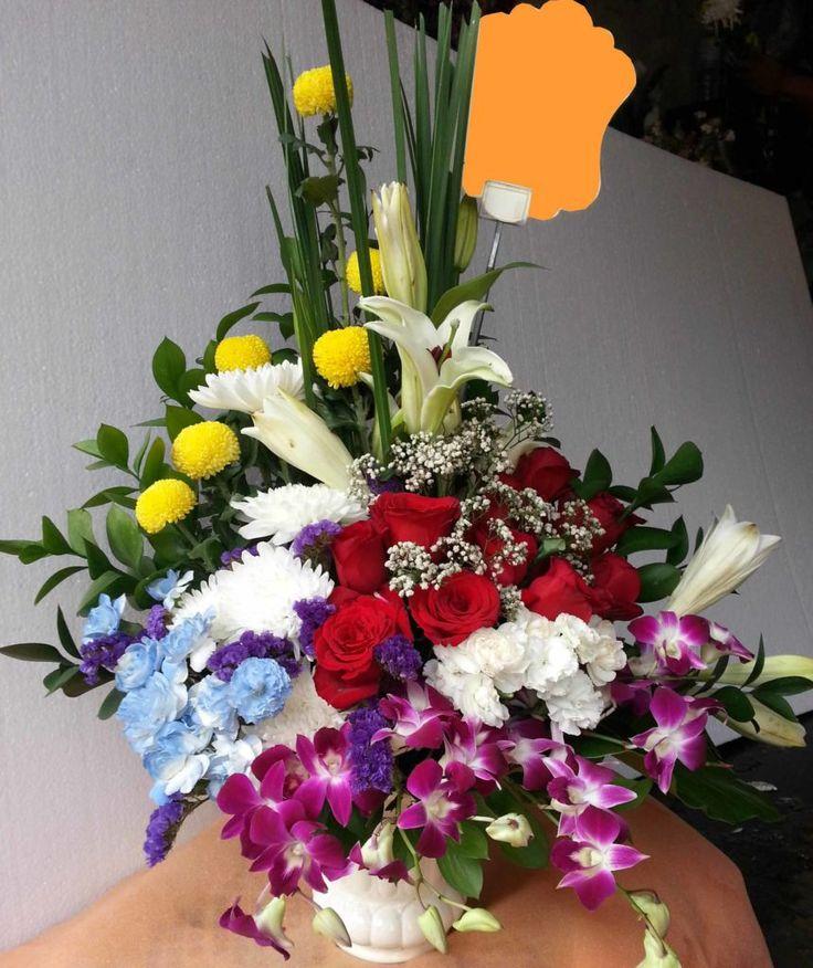 Bunga Rangkaian Untuk Wisuda