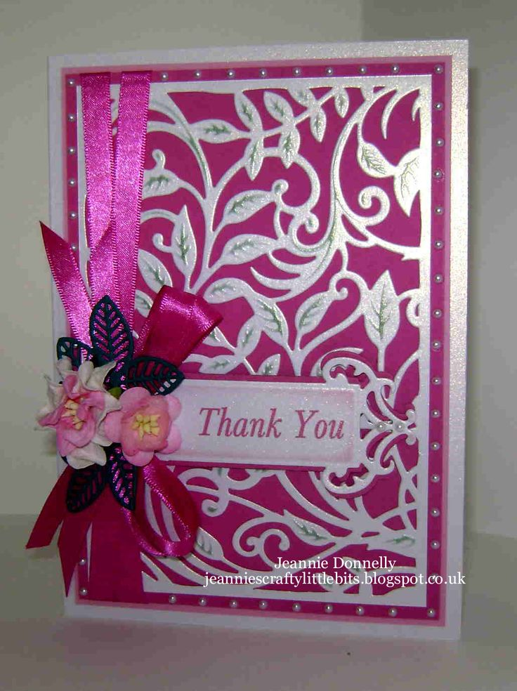 Thank You Card fairly simple little