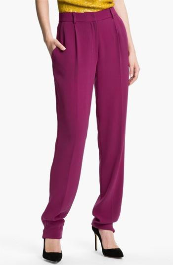 Diane von Furstenberg 'Jacques Cady' Crepe Trousers | Nordstrom
