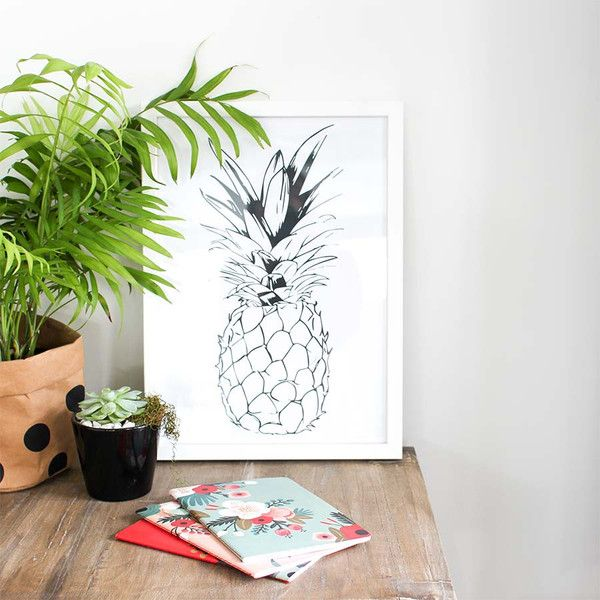 Peach & Co - Pineapple Print... from $25