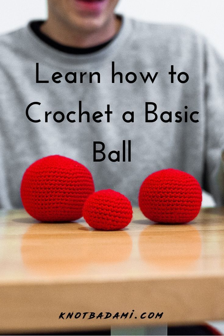How to Crochet a Ball! Learn how to crochet your v…