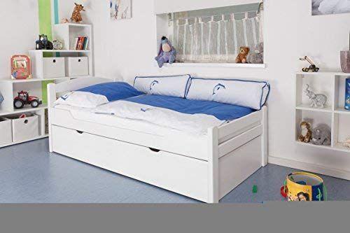 Kinderbett Jugendbett Easy Premium Line K1 2h Inkl 2 Liegeplatz Und 2 Abdeckblenden 90 X 200 Cm Buche Vollholz M Kinderbett Jugendbett Jugendbett Kinderbett