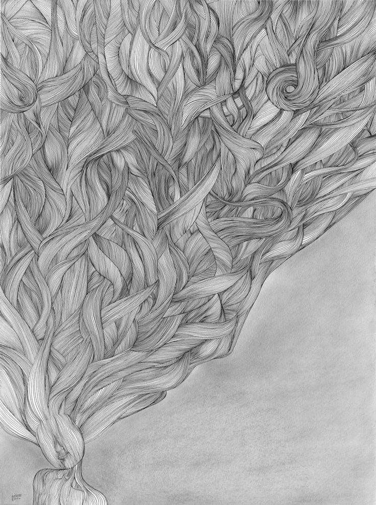 70x50cm | Rapid Pen & Pencil on Cardboard | By Mostafa Akbari © ▌ 2009 www.mostafaakbari.com