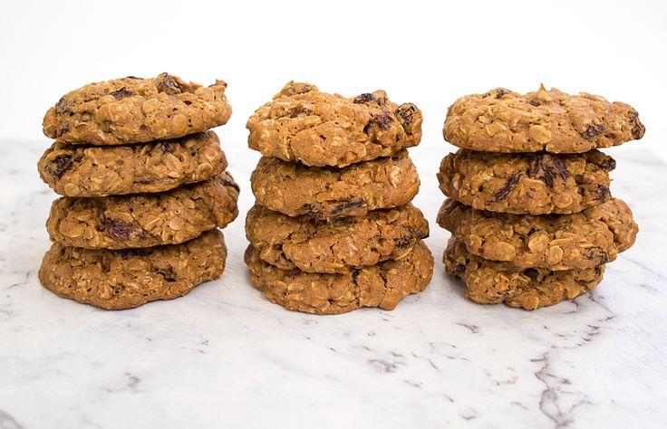 Chunky Oat & Raisin Cookies | Lighthouse Spring Baking