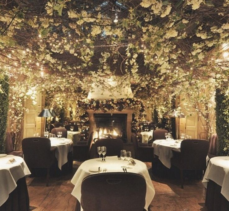 Winner of London's Most Romantic Restaurant: Clos Maggiore, 33 King Street, Covent Garden