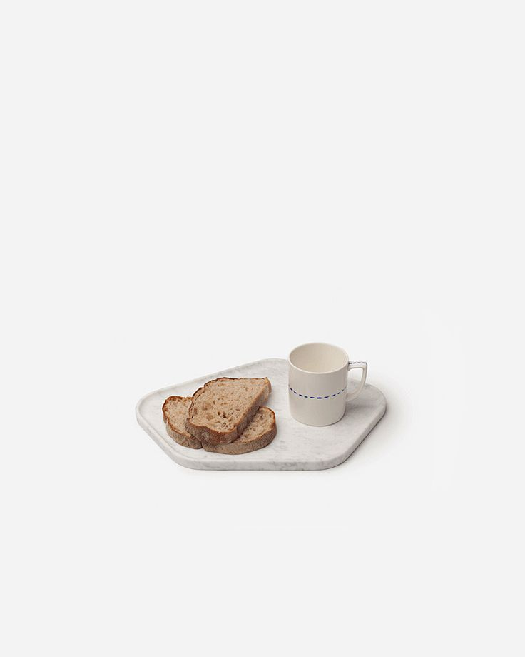 """soul tray"" by Kim HyunJoo, minimal and marble   @aesencecom"