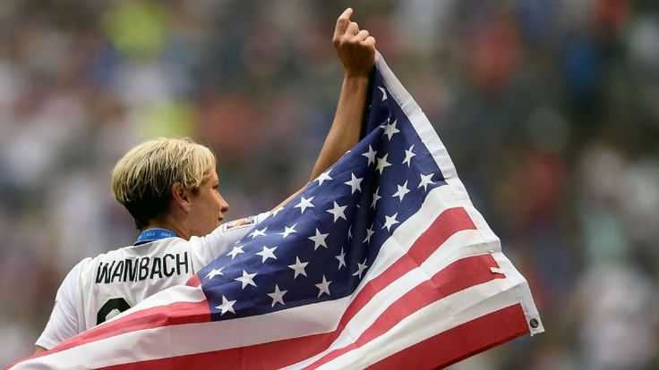 Abby Wambach, the all-time leading scorer in international soccer play, announced her retirement Tuesday.